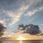 Sun set, Anse Lazio