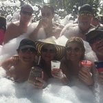 foam party!  So much fun!!!
