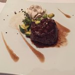 Beef Tenderloin at the Gourmet A La Carte restaurant.