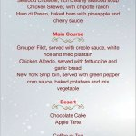 Christmas Menu dinners are ready...😃