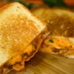 Pimento Grilled Cheese with Bacon Jam!