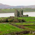 Castle below Cahergall