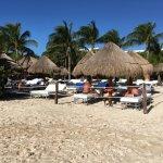Just a corner of the Platinum beach area