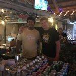 Awesome bartenders Kiki and Jason