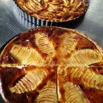 des tartes de fruits frais de saison POIRES de Villebernier