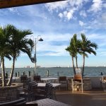 view from Shuckers Waterfront Bar & Grill Patio