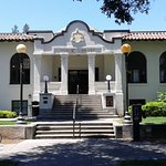 Woodland Public Library and Rose Garden