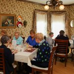 Group luncheon are most welcome! The restaurant can accommodate groups up to 50.