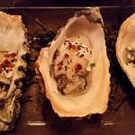 4 pieces roasted oyster