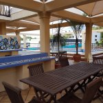 Great Pool Spa & BBQ Area