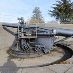 Battery Prat 6 inch gun replica
