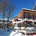 L'Auberge et Bistro en hiver