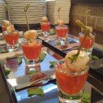 appetizer 4 course catering menu