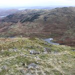 View down from Tarn Crag