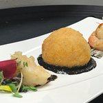 Seafood Arancino