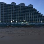 View from the beach, Hilton Suites Ocean City Oceanfront  3200 North Baltimore Ave., Ocean City