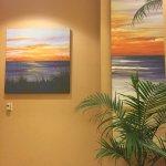 Art decorating Hilton Suites Ocean City Oceanfront  3200 North Baltimore Ave., Ocean City