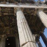 Temple of Hephaestus (the ceilings)