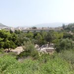 The view of Agora from the Temple of Hephaestus