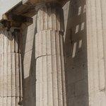 The columns of Temple of Hephaestus