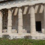 The columns of Temple of Hephaestus 2