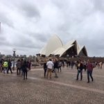 Lousy photo of opera house from outside. Don't bother looking at this one.