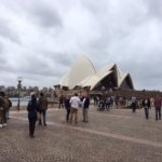 Another lousy photo of opera house from outside. Don't bother looking at this one.