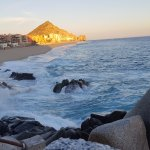 Go before sunset so you can actually watch the sunset and see the waves crashing on the rocks