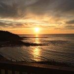 Breath taking ocean view from hotel balcony