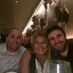 Happy diners at Aria