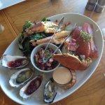Seafood platter (entree)