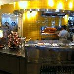 Küche, Pizzaofen