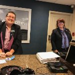 Front desk provided excellent service throughout our stay