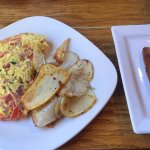 Paint-Your-Omelet with Side of Sausages