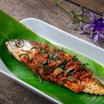 whole tandoori Sea-bas