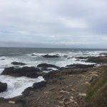 Yachats coastline Foto