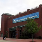 side view of the National Mississippi River Museum & Aquarium