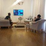The villa's living room