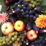 Récolte d'automne pour le déjeuner