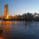 Riverfront view.