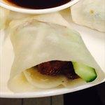 Peking Duck Duck Wraps