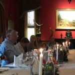 Sit down 3 course dinner in the Castle