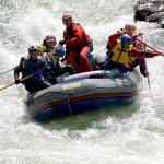 Rafting on the middle Katun