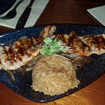 Wakadori grill - grilled chicken with delicious garlic rice