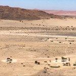 Fabulous camping in the desert