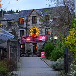 The Old Mill Inn looking festive for Christmas
