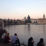 There is no better view of Charles Bridge :)