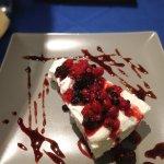 Cheesecake ai frutti di basco , ottima