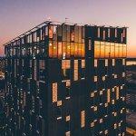 Suomen korkeimman hotellin katolla sijaitseva ravintola.