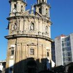 Bonita iglesia de la Virgen Peregrina